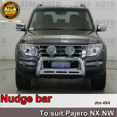 AU284.05 • Buy Nudge Bar 3  Stainless Steel To Suit Mitsubishi Pajero NX NW 2012-2019
