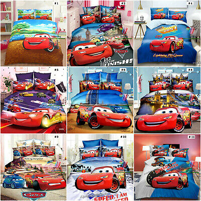 Disney Cars Quilt/Doona/Duvet Cover Set Or Sheet Set Single/Double/King Size  • 28.50£