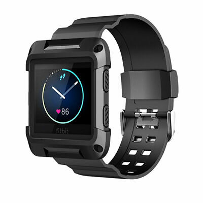 $ CDN12.45 • Buy For Fitbit Blaze Soft Silicon Wrist Watch Band Replacement Strap Build-in Frame