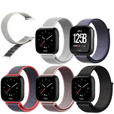 $ CDN13 • Buy For Fitbit Versa/Lite/Special Edition Band Replacement Nylon Wristband Strap
