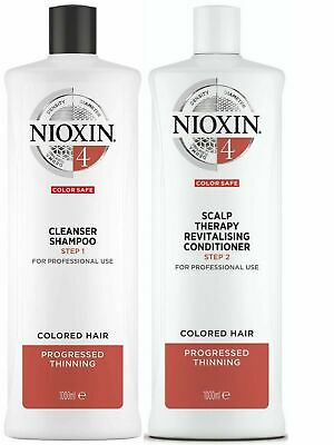 AU84.94 • Buy Nioxin System 4 Cleanser 1 L And Scalp Therapy Revitalising Conditioner 1 L Duo