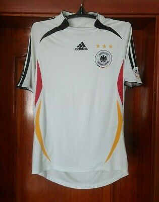Germany 2005 - 2007 Home National Football Shirt Jersey Adidas Size L • 21.71£