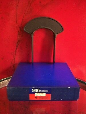 Vintage RARE 1940's Shure Brothers A72A Microphone Flag 55 Adapter Radio # 3 • 494.06£