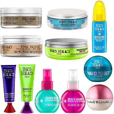 Tigi Bed Head Hair Styling Products Gel, Wax, Paste & Spray Available To Choose • 6.75£