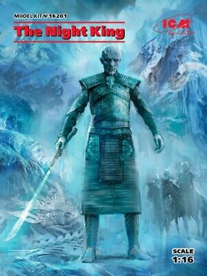 £25.99 • Buy ICM 16201 1:16th Scale Figure Kit Game Of Thrones The Night King
