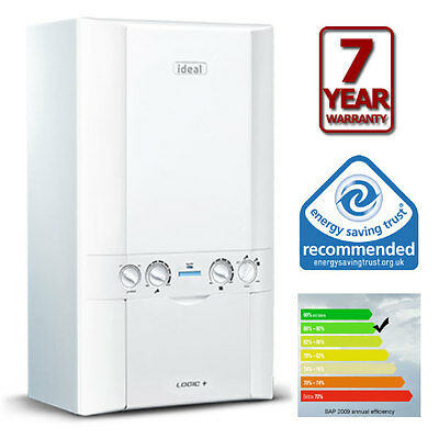 £1398 • Buy SUPPLIED And FITTED  Ideal Logic Max 30 ErP Combi Boiler