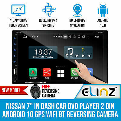 AU450 • Buy Nissan 7  In Dash Car DVD Player 2 DIN Android 10 GPS WiFi BT Reversing Camera