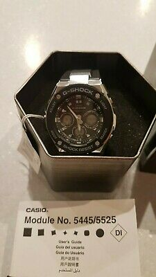 View Details Casio G Shock Steel Men Watch GST-S300-1AER - BNIB RRP £169.99 • 110.00£
