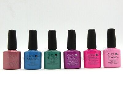 AU17.09 • Buy CND Shellac UV Gel Polish .25 Oz - ART VANDAL COLLECTION SPRING 2016 NEW!!