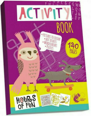 Kids Activity Book Dot To Dot Book Large 140 Pages Big A4 Children Toy Kids Gift • 2.99£