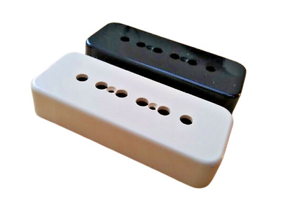 Pro Series P90 Soapbar Guitar Pickup Covers For USA Gibson Black Or Cream • 3.25£