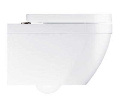 £279.90 • Buy GROHE EURO CERAMIC RIMLESS COMPACT WALL HUNG WC TOILET With SEAT & COVER