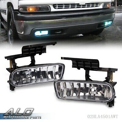$19.50 • Buy Clear Bumper Fog Lights Driving Lamps For 00-06 Chevy Suburban/ Tahoe