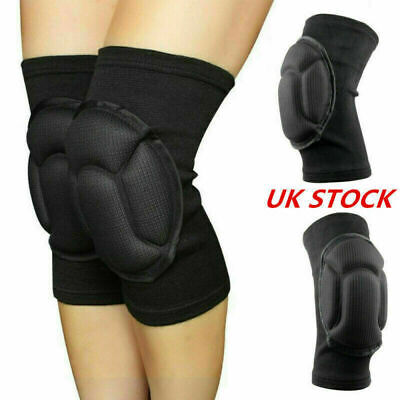 1 Pair Professional Knee Pads Construction Comfort Leg Protectors Work Safety UK • 3.99£