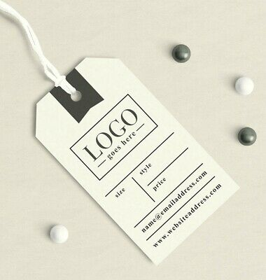 PERSONALISED Bespoke Price Labels Tickets Retail Hanger Tags Sale Tags -CONTACTS • 0.99£