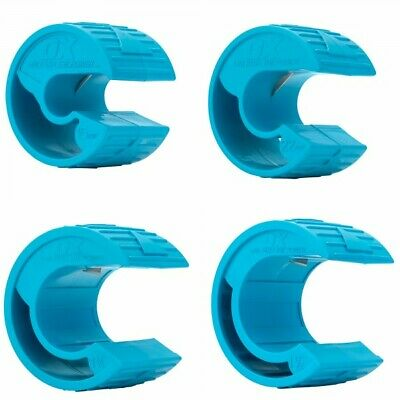 OX Pro PolyZip Plastic Pipe Cutter Set 4-Piece 15mm 22mm 35mm 42mm Plumbers • 53.80£