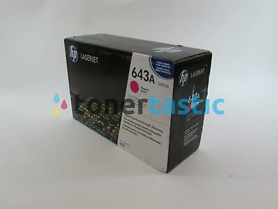 Genuine HP Q5953A 4700 Magenta Print Toner Cartridge 643A (VAT Inc) • 118.80£