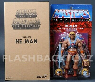 $99.99 • Buy 2019 Super 7 MOTU Ultimate HE-MAN Filmation 2.0 Masters Of The Universe
