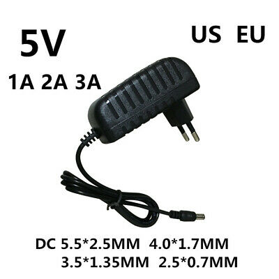 $ CDN4.03 • Buy DC 5V 3A AC 100-240V Converter Power Adapter 5Volt 1000MA Power Supply