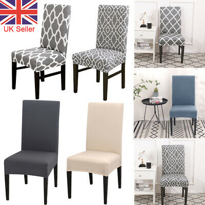 £3.69 • Buy 1//2/4/6PCS Dining Chair Seat Covers Slip Stretch Wedding Banquet Party Covers