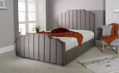 Deco An Exclusive Sleigh Bed Inspired By French Art Deco • 249.99£