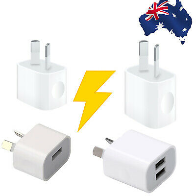 AU8.99 • Buy AC Wall Charger Adapter For IPhone 5 6 7 8 Plus XR XS MAX IPad 5 6 Mini Pro Air