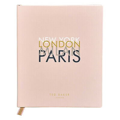 £25 • Buy Ted Baker - Pink Travel Planner And Journal With Soft Touch PU Cover
