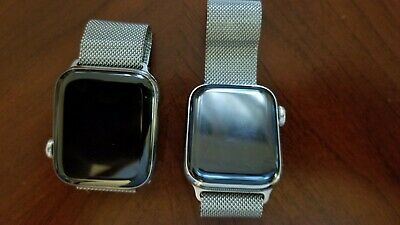 $ CDN522.36 • Buy Perfect Condition Apple Watch Stainless Steel Series 4 Milanese Loop GPS/LTE