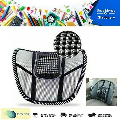 AU15.99 • Buy Lower Back Lumbar Support Office Chair Car Seat Lumber Cushion Backrest Mesh AU