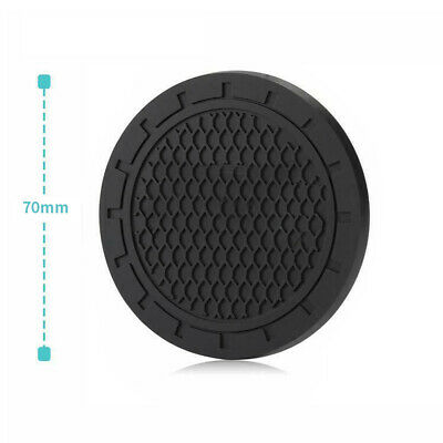 $ CDN7.24 • Buy 2x Car Coasters Silicone Compound Material Adsorption Non-Slip  Well Toughness