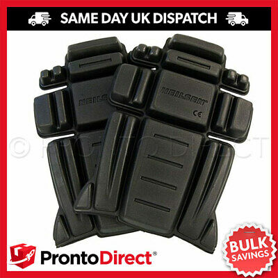 Knee Pad Inserts For Work Trousers Knee Guard Safety Foam Protectors - 1 Pair • 4.69£
