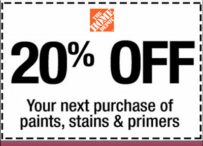 $4.99 • Buy  Home Depot Coupon $20 OFF $200