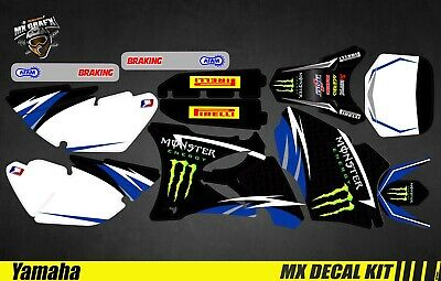 Kit Déco Moto Pour / Mx Decal Kit For Yamaha YZ 85 - Monster • 103£
