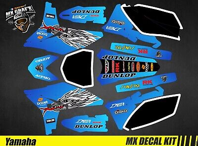 Kit Déco Moto Pour / Mx Decal Kit For Yamaha YZF - TroyLee • 120.33£