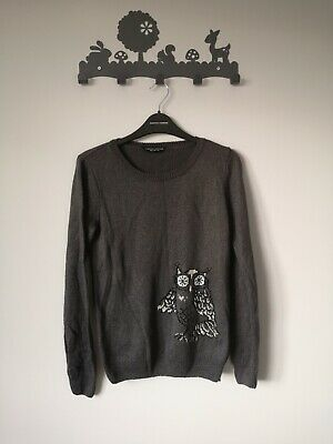 BN Grey Jumper With Owl Design. 10 • 19.99£