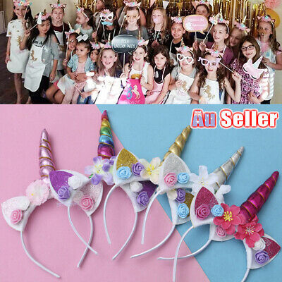 AU9.98 • Buy Cute Funny Unicorn Headband AZ Halloween Selling Children