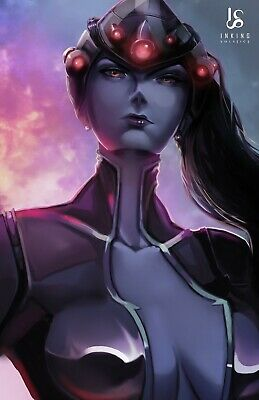 AU21.06 • Buy Widowmaker Overwatch Art Poster By Inking Solstice - PS4 Xbox One - 11x17 13x19