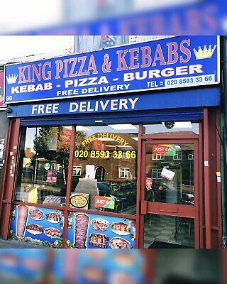 Pizza, Kabab, Burger Takeaway Shop • 37,825£