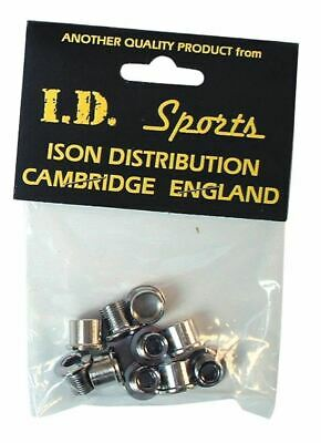 ID Single Chainring Bolts Stainless Steel - 5 In Pack • 11.99£