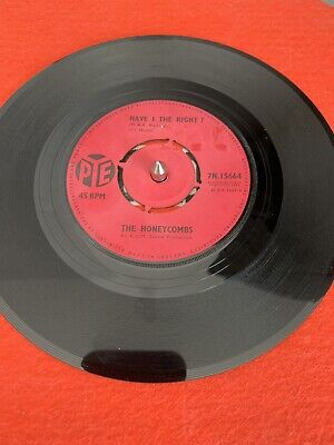 The Honeycombs. Have I The Right/Please Don't Pretend Again • 2.50£