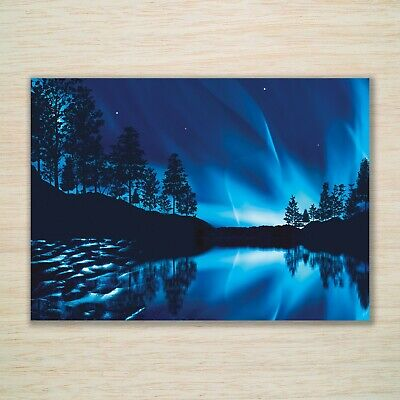 Christmas Blank Cards & Packs - Blue Or Green Northern Lights -  FREEPOST • 8.99£