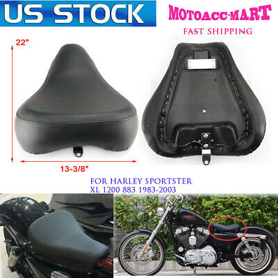 $107.95 • Buy 83-03 Front Driver Solo Seat Rear Pad For Harley Sportster XL 883 1200 Custom