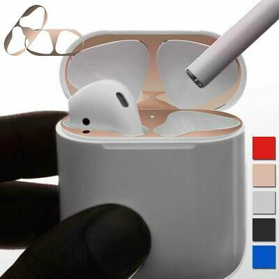 $ CDN0.99 • Buy Metal Dust Guard Protective Film Sticker Cover For Airpods Accessories New