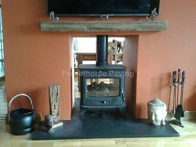 Fire Hearth | 120cm X 100cm | Natural Stone Similar To SLATE | Speedy Delivery • 129£