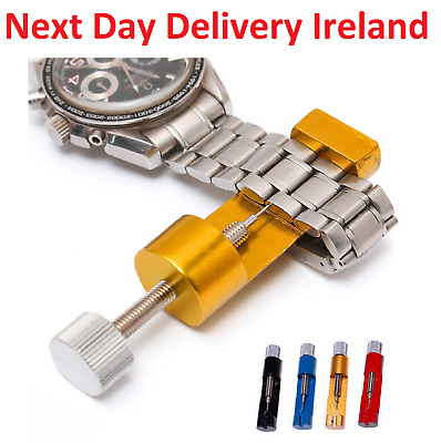 $ CDN12.13 • Buy Metal Adjustable Watch Band Strap Bracelet Link Pin Remover Repair Tool Kit Set