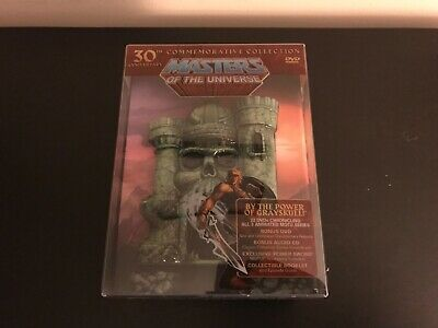 $300 • Buy Masters Of The Universe: 30th Anniversary Commemorative Collection DVD NEW OOP