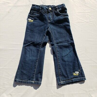 $11.99 • Buy Girls Gymboree Jeans Size 3T Vintage Denim Jeans  Bee Chic