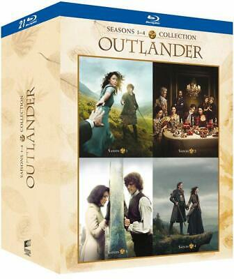 AU84.80 • Buy OUTLANDER Seasons 1-4 BLU-RAY Box Set BRAND NEW (French Box/English Audio)