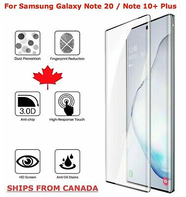 $ CDN6.45 • Buy For Samsung Galaxy Note 10+ 20 Plus 8 9 Premium Tempered Glass Screen Protector