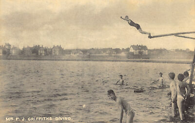 £6.75 • Buy R190404 Mr. F. J. Griffiths Diving. Mostyn House School. Parkgate. Cheshire